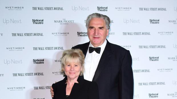 Jim Carter and Imelda Staunton (Ian West/PA)