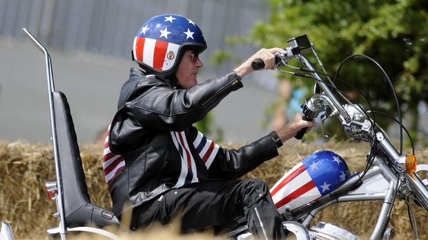 Hollywood actor Peter Fonda has died (Alan Crowhurst/PA)
