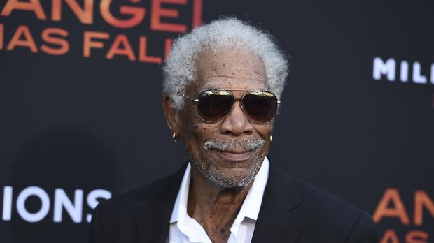 Veteran Hollywood star Morgan Freeman said money was the motivating factor for his latest role (Jordan Strauss/Invision/AP)