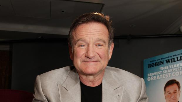 Robin Williams: 'I would agree with you if you were right.' (Yui Mok/PA)