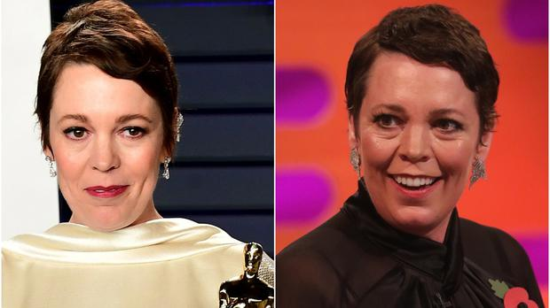 Olivia Colman appears as a guest on The Graham Norton Show