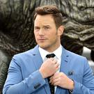 Chris Pratt was previously married to the actress Anna Faris (Ian West/PA)