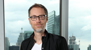 A casual capacity for viciousness: Stephen Merchant plays a jovial Gestapo officer in Jojo Rabbit