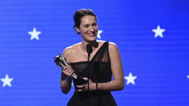 Phoebe Waller-Bridge was among the big winners at the Critics' Choice Awards (AP Photo/Chris Pizzello)