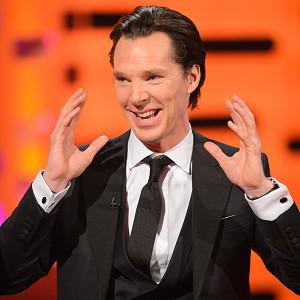 Benedict Cumberbatch told how he was fooled into covering his face with sun cream
