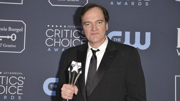 Quentin Tarantino's Once Upon A Time… In Hollywood was named best picture at the Critics' Choice Awards (Richard Shotwell/Invision/AP)