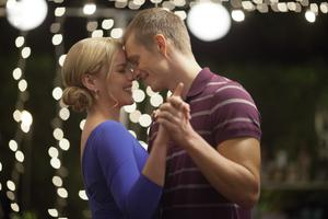 Chemistry: Joel Kinnaman and Abbie Cornish portray a happily married couple — until a critical injury and drastic surgery change their relationship forever