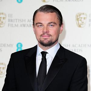 Leonardo DiCaprio attends the Baftas