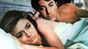 Older woman? Anne Bancroft and Dustin Hoffman in The Graduate. Photo by Getty
