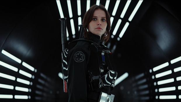 A scene from a trailer for the new Star Wars anthology film Rogue One