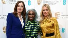 (left to right) Amanda Berry, Cynthia Erivo and Edith Bowman during the EE Bafta Rising Star Award nominations announcement at Bafta, in Picadilly, London.