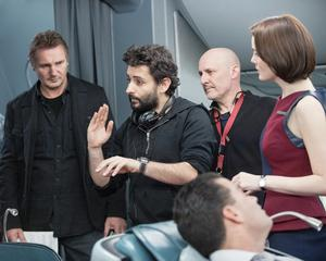 Behind the scenes on Non-Stop