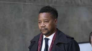 Cuba Gooding Jr leaving court in January (AP/Mark Lennihan, File)