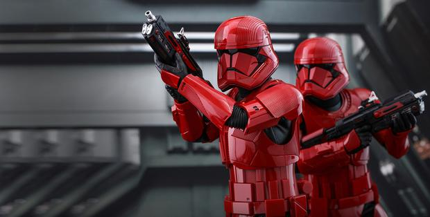 Sith Troopers in Star Wars: The Rise of Skywalker