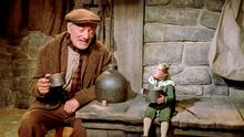 A scene from the 1959 film 'Darby O'Gill and the Little People'