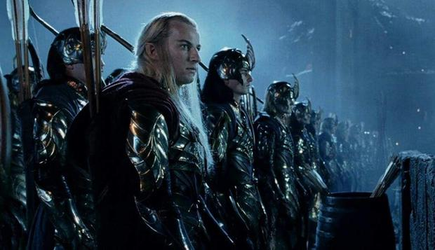 Lord Of The Rings, Battle of Helm's Deep from The Two Towers movie