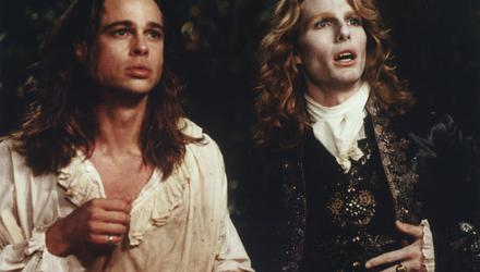 Brad Pitt and Tom Cruise in Interview With The Vampire
