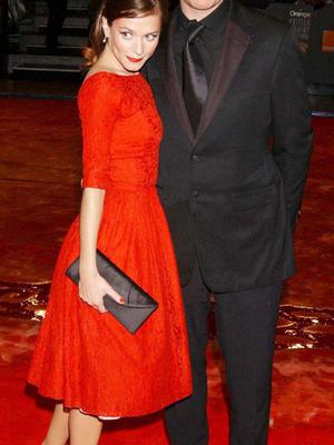 Anna with her former partner David Thewlis