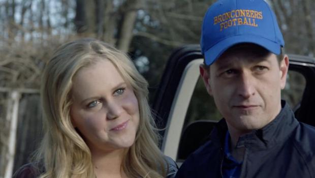 Amy Schumer and Josh Charles in Football Town Nights