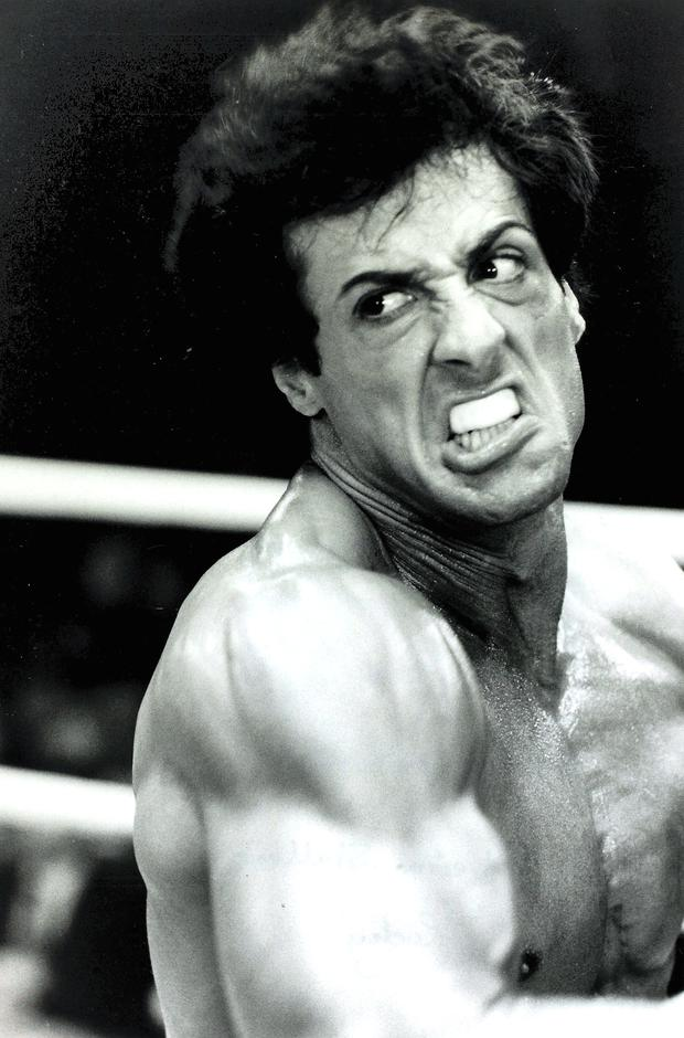 Stallone in Rocky