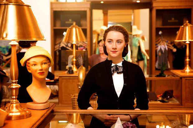 London Film Awards Nominee: Saoirse Ronan in the film 'Brooklyn'