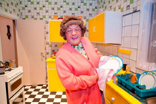 """Brendan O'Carroll – who took part in the Crumlin Hospital Celebrity Ward Walk, which is now in its 11th year – confirmed there is a second Mrs Brown movie in the pipeline. The Finglas funnyman said: """"We're just there or thereabouts on a sequel"""" Photo: James Horan/Collins"""
