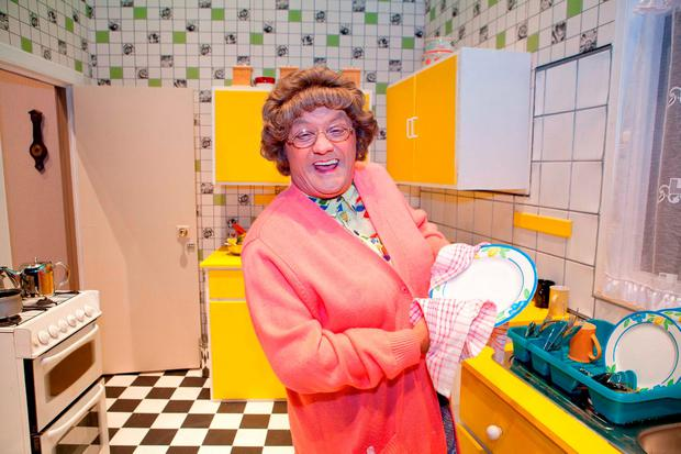Brendan O'Carroll as Mrs Brown. Photo: James Horan/Collins