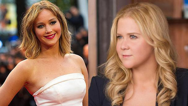 Jennifer Lawrence and Amy Schumer are working on a new movie together