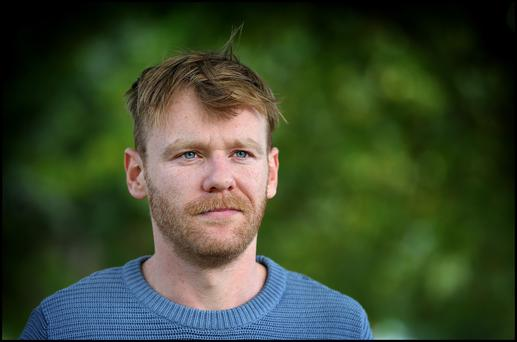 For Brian Gleeson, acting runs in the family. Photo: Steve Humphreys