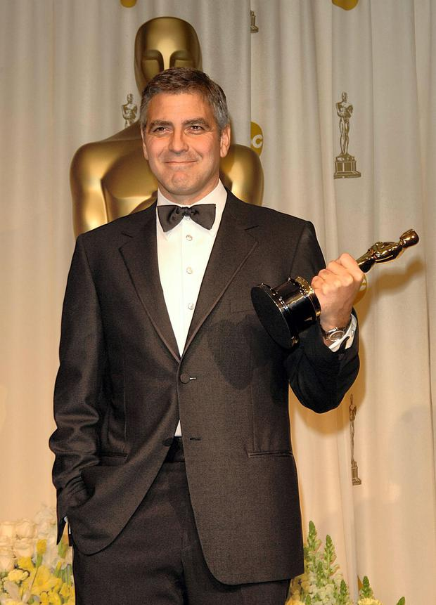 How Hollywood helped: Clooney's Oscars speech in 2006 had viewers reaching for their sick buckets