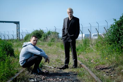 Action stations: Ewan McGregor and Jonny Lee Miller in T2