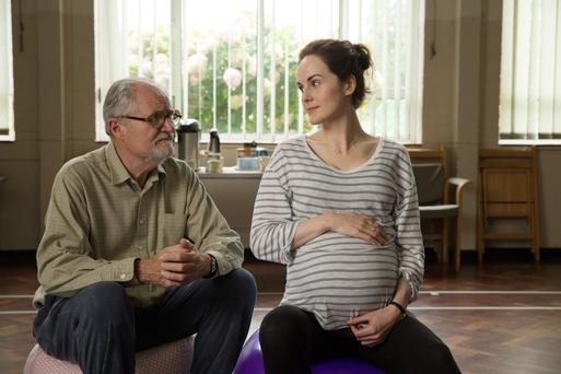Jim Broadbent and Michelle Dockery in 'A Sense of an Ending'