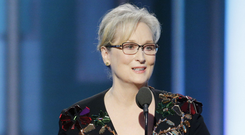 Making a stand: Meryl Streep at last year's Golden Globes