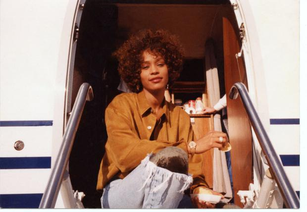 Whitney during her 80's heyday
