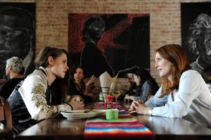 Flood warning: Kristen Stewart and Julianne Moore as problematic daughter and mother in Still Alice.