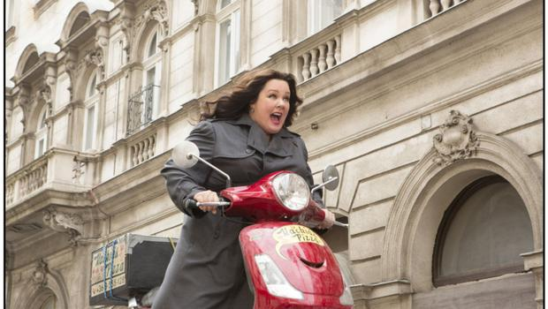 Melissa McCarthy as secret agent Susan in 'Spy', one of the better comedies this year.
