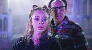 Nicolas Cage and Madeleine Arthur in the adaptation of HP Lovecraft's 'Color Out Of Space'
