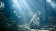 Lifting a curse: Anna Kendrick and Emily Blunt in Into the Woods.