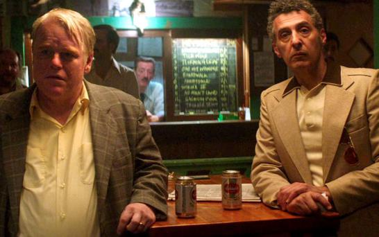 Loss: Philip Seymour Hoffman, with John Turturro in God's Pocket