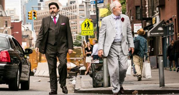 AFFECTING: Alfred Molina, left, and John Lithgow