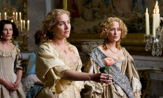 Kate Winslet and Jennifer Ehle in A Little Chaos