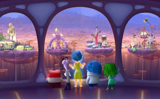Tale told with aplomb: Inside Out from Pixar is both gorgeous and often moving