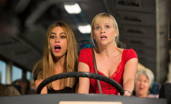 Trail across Texas: Sofia Vergara and Reese Witherspoon star in Hot Pursuit
