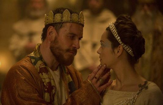 To be or not to be: Michael Fassbender is sublime as Macbeth as is Marion Cotillard as the manipulative Lady Macbeth.