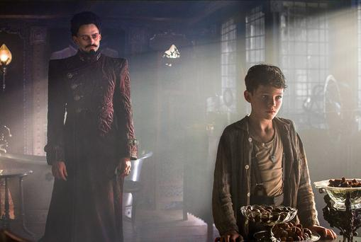 Pan starring Hugh Jackman as Blackbeard and Levi Miller as Peter, is more panto than Hollywood epic.