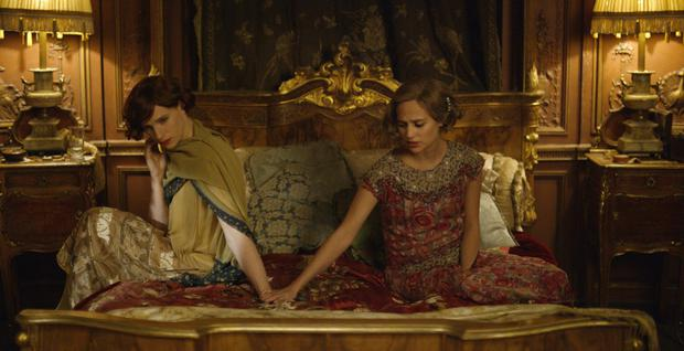Gender issue: Eddie Redmayne, left, and Alicia Vikander in The Danish Girl