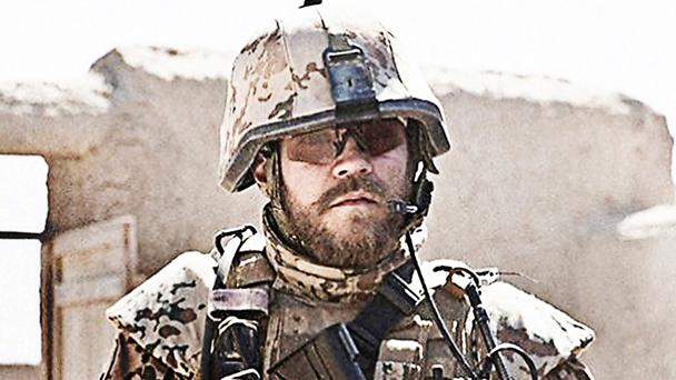 Firefight: Pilou Asbaek stars as a Danish commander on tour of duty in Afghanistan