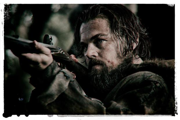 Gritty: Leonardi DiCaprio in The Revenant