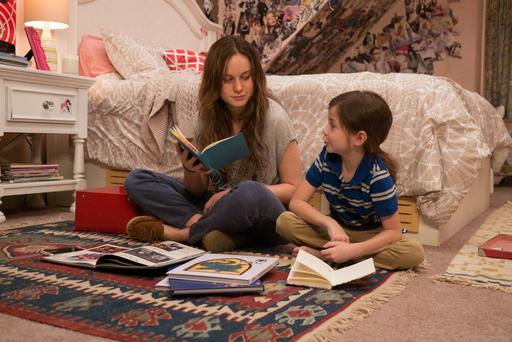 Gripping: Brie Larson and Jacob Tremblay in a scene from Room