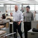 Crack team: Investigative journalists take on a clerical cover-up in Spotlight, with Michael Keaton and Mark Ruffalo.